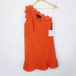 {Victoria Beckham |Target} Orange Dress